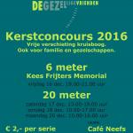 Kerstconcours 2016