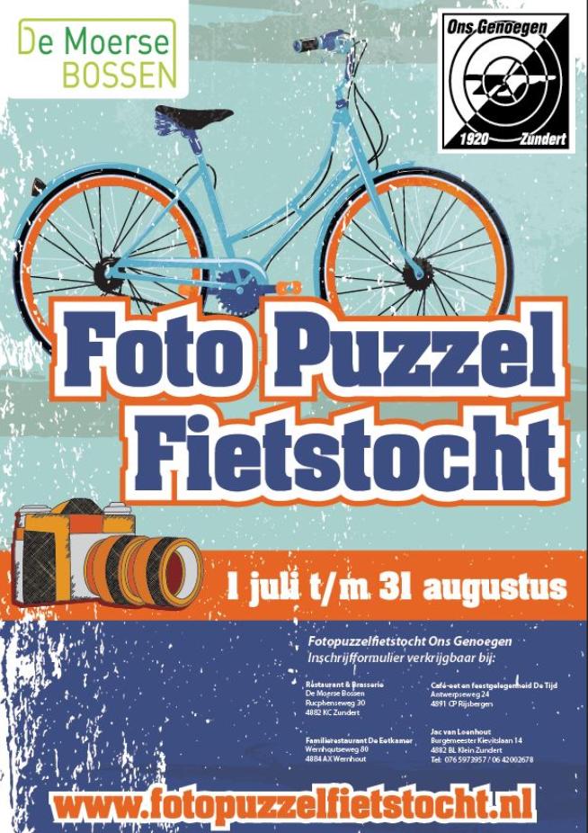 Fotopuzzelfietstocht - Kruisboogvereniging